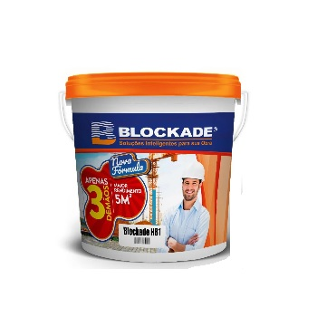 Impermeabilizante Acrílico BD22kg HB1 Branco - Ref.01010102524 - BLOCKADE