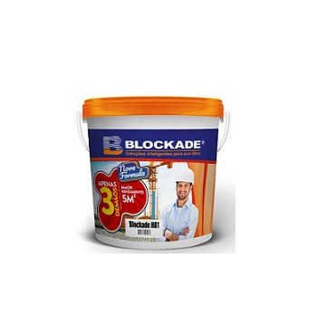 Impermeabilizante Acrílico 22kg HB1 Verde - Ref.01010103524 - BLOCKADE
