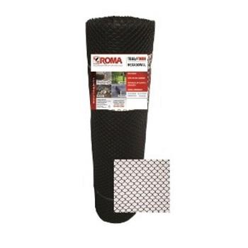 Tela Proteção Galinha 1x50m G2/M40 Preta - Ref.9361 - ROMA