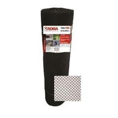 Tela Proteção Pinteiro 1x50m P4/M25 Preta - Ref.9364 - ROMA