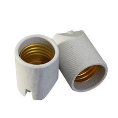 Soquete Porcelana E27 Plafon - Ref.30033 - MECTRONIC