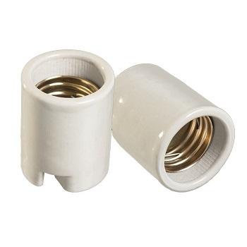 Soquete Baquelite E40 Branco - Ref.30222 - MECTRONIC