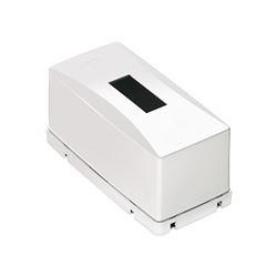 Caixa de Distribuição PVC de Sobrepor Para 1 Disjuntor Din/Nema - Ref. T_73003- MECTRONIC
