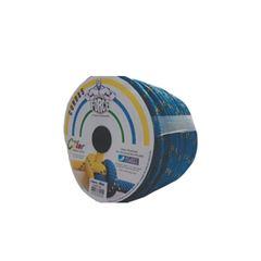 Cordas Poliéster 10mmx165m Trançada Azul/Dourado - Ref.308 - CORDAS FORCE