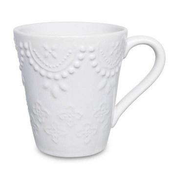 Caneca em Cerâmica 280ml Branco AK70-0802 - Ref.075983 - OXFORD