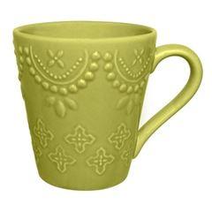 Caneca em Cerâmica 280ml Verde AK70-0617 - Ref.075988 - OXFORD