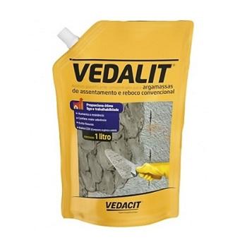 Aditivo Plastificante Argamassa e Chapisco 1 Litro Sup Vedalit - Ref.121853 - VEDACIT