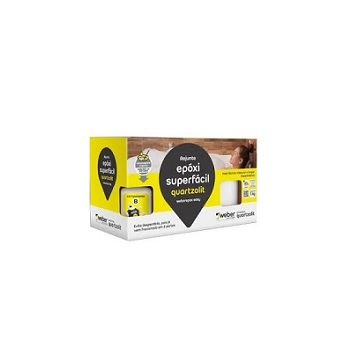 Rejunte Epóxi Caixa Com 1kg Superfácil Cinza Ártico - Ref. 0574.00018.0001CX - QUARTZOLIT