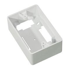 Caixa De Luz Plástica 4x2 Milleniun Branca - Ref. T_73001- MECTRONIC
