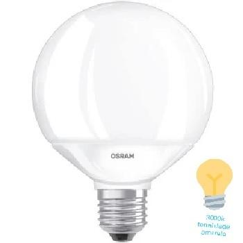 LAMPADA LED 10WBIV GLOB E27 3000K OSRAM
