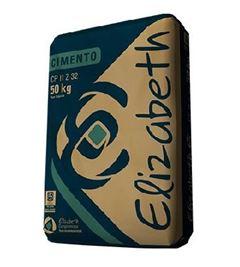Cimento CPII Z 32 - Ref.01020001001001 - ELIZABETH