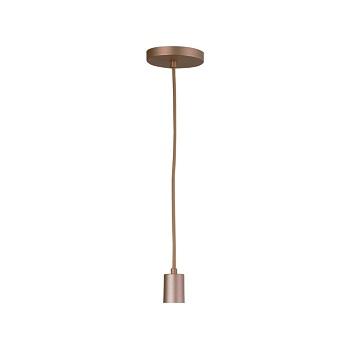 Arandela em Alumínio Uno Haste Reta Bronze Mate - Ref. 3118/AR BZM - ATTENA