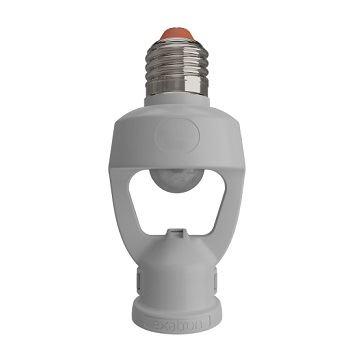 Sensor de Presença Teto 328G Soquete E27 127/220v Branco - Ref. SPT0E27XC - EXATRON