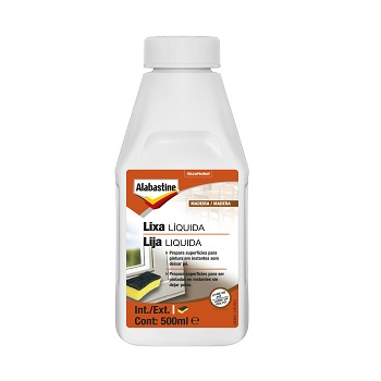 Lixa Líquida 500ml - Ref. 5323543 - ALABASTINE