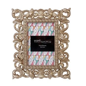 Porta Retrato 10x15cm Plastico Neo Classic - REF.531725 - EUROQUADROS