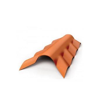 Cumeeira PVC Espigão Inferior Plan Cerâmica - Ref.23015019 - PRECONVC