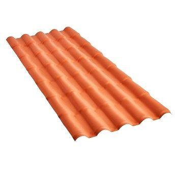 Telha PVC 2,42x0,88m Plan Cerâmica - Ref.23019242 - PRECON