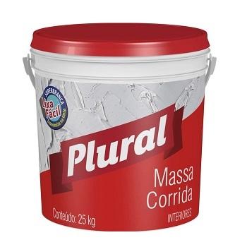 MASSA CORRIDA BALDE 25KG PLURAL - REF.187300026 - IQUINE