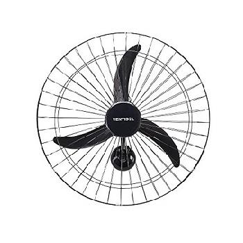 Ventilador de Parede 220v Oscilante New 60cm Preto - Ref.107 - VENTISOL