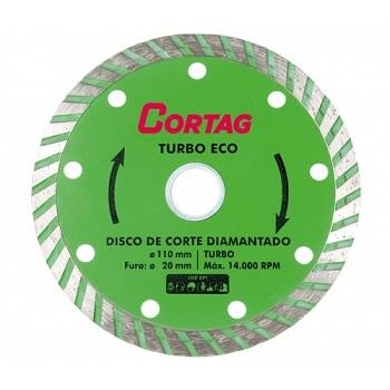 Disco Diamantado 110x20mm Eco Turbo - Ref.60598 - CORTAG