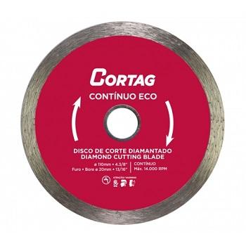 Disco Diamantado 110x20mm Eco Contínuo - Ref.61549 - CORTAG