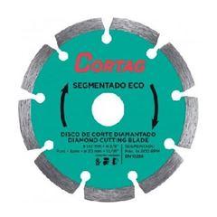 Disco Diamantado 110x20mm Eco Segmentado - Ref.61699 - CORTAG