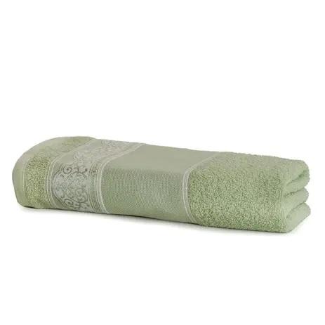 Toalha de Banho de Pintar e Bordar Luara Verde - Ref. SPINTJBAJLUA7113 - SANTISTA