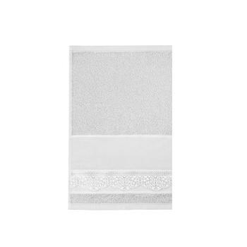 Toalha de Lavabo de Pintar e Bordar Luara Branco - Ref.SPINTJLBJLUA0001 - SANTISTA