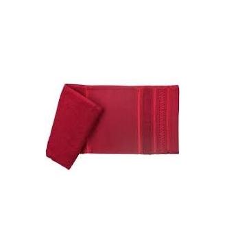Toalha de Banho para Pintar e Bordar Desirée Vermelho - Ref.SPINTTBAJDSR4030 - SANTISTA