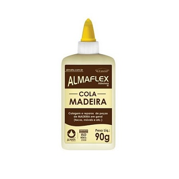Adesivo PVA/Madeira Almaflex 90g - Ref.637 - ALMATA