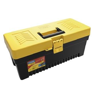 Caixa para Ferramenta Plástica 17 Polegadas Preta - Ref.43804117 - TRAMONTINA