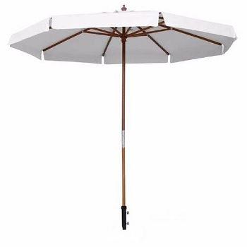 Ombrellone Bagum 2,40m Branco - Ref.240801 - BELFIX
