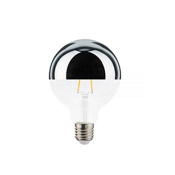 Lâmpada Led 4,5W Bivolt Filamento Defletora E27 Âmbar - Ref.302822 - BRILIA