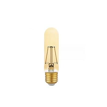 Lâmpada Led 2,5W Bivolt Tubo T30 Filamento Vintage E27 Âmbar - Ref.438657 - BRILIA