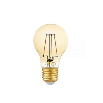 Lâmpada Led 2,5W Bivolt Bulbo Filamento Vintage E27 Âmbar - Ref.438572 - BRILIA
