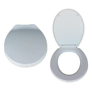 Assento Sanitário Polipropileno Universal Soft Close Branco - Ref. DMR72011 - DIMAR