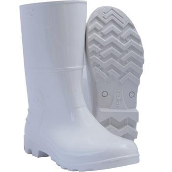 Bota PVC 43 Cano Médio Branca - Ref.315343 - KADESH