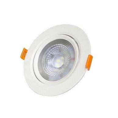 Spot LED 3W Bivolt de Embutir Redondo 6500K - Ref. DI70451 - DILUX