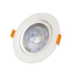 Spot LED 5W Bivolt de Embutir Redondo 6500K - Ref. DI70499 - DILUX
