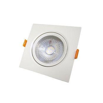 Spot LED 5W Bivolt de Embutir Quadrado 6500K - Ref. DI70512 - DILUX