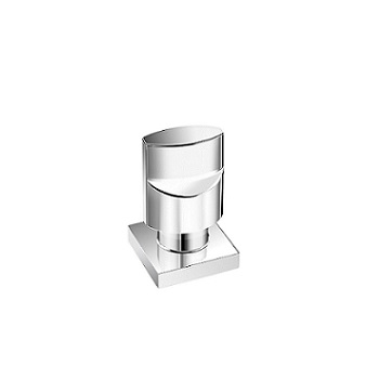 Acabamento Registro Metal 1/2 A 1 Universal Goa Cromado - Ref. 57563 - TIGRE