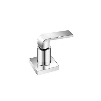 Acabamento Registro Metal 1/2 A 1 Universal Goa Slim Cromado - Ref. 57529 - TIGRE