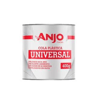 Massa plástica 400g Série Especial Cinza - Ref. 001311-08 - ANJO