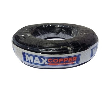 Cabo Flexível 1,5mm 100m 750v Preto - Ref. 456315051 - MAXCOPPER