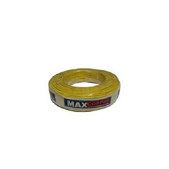 Cabos Flexível 1,5mm 100m 750v Amarelo - Ref.456315027 - MAXCOPPER