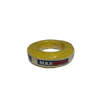 Cabos Flexível 2,5mm 100m 750v Amarelo - Ref.456315165 - MAXCOPPER