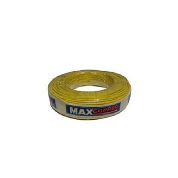 Cabos Flexível 2,5mm 100m 750v Amarelo - Ref.456315165 - MAXCOPPER