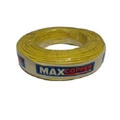 Cabo Flexível 4mm 100m 750v Amarelo - Ref.456315269 - MAXCOPPER