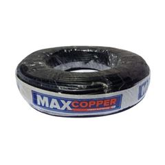 Cabo Flexível 10mm 100m 750v Preto - Ref.456315076 - MAXCOPPER