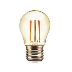 Lâmpada LED Bolinha G45 4W Branco Quente 2200k Bivolt - Ref. DI70673 - DILUX